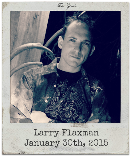 "1.30.15 Larry Flaxman & Marie D. Jones: ""The GRID"""