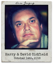 10.14.16 Harry Oldfield with his son, David Oldfield: Aura Imaging