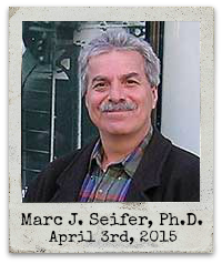 "4.3.15 Marc J. Seifer, Ph.D.: ""Transcending the Speed of Light: Consciousness, Quantum Physics, and the Fifth Dimension"""