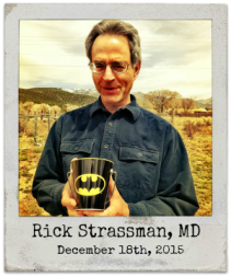 "12.18.15 Rick Strassman, MD: ""DMT and the Soul of Prophecy: A New Science of Spiritual Revelation in the Hebrew Bible"""